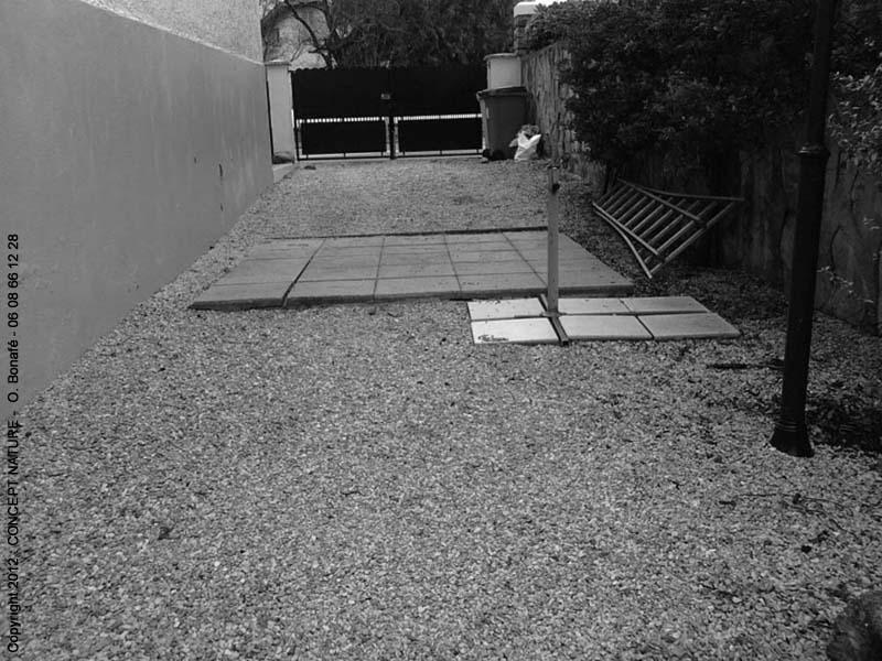Complètement et trop extrême Relooking de jardins de ville, terrasse, cour, et balcon #VB_28