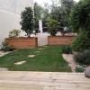 Terrasse et jardin à Dijon après les travaux d'aménagement