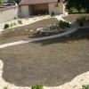 photo du jardin pendant les travaux d'aménagement