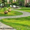 jardin design et contemporain à Annecy, landscape design