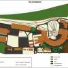 plan d'aménagement paysager d'un site sncf