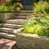 jardin en terrasse à paris montmartre, garden terrace