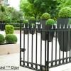 création d'un jardin pour un hotel 3 étoiles