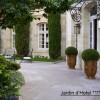 njardin de luxe pour hotel 4 étoiles