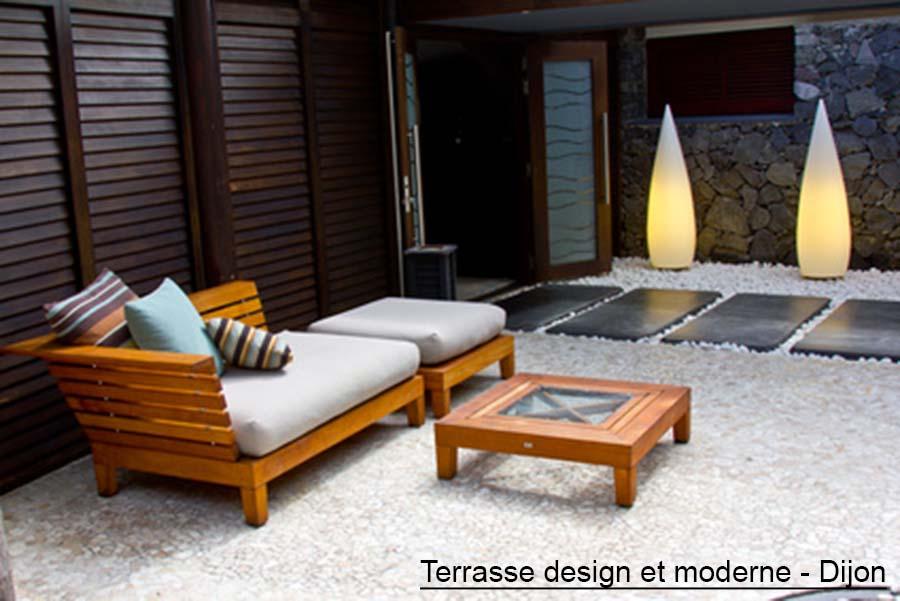 Stunning photo jardin moderne design images - Jardin moderne zen villeurbanne ...