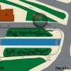 plan d'aménagement paysager d'une écluse du VNF Côte d'Or