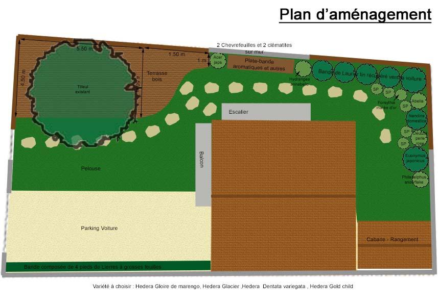 Relooking de jardin plan d 39 am nagement et design - Plan amenagement jardin rectangulaire ...