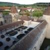 aménagement d'un jardin d'excellence sur une terrasse de chateau